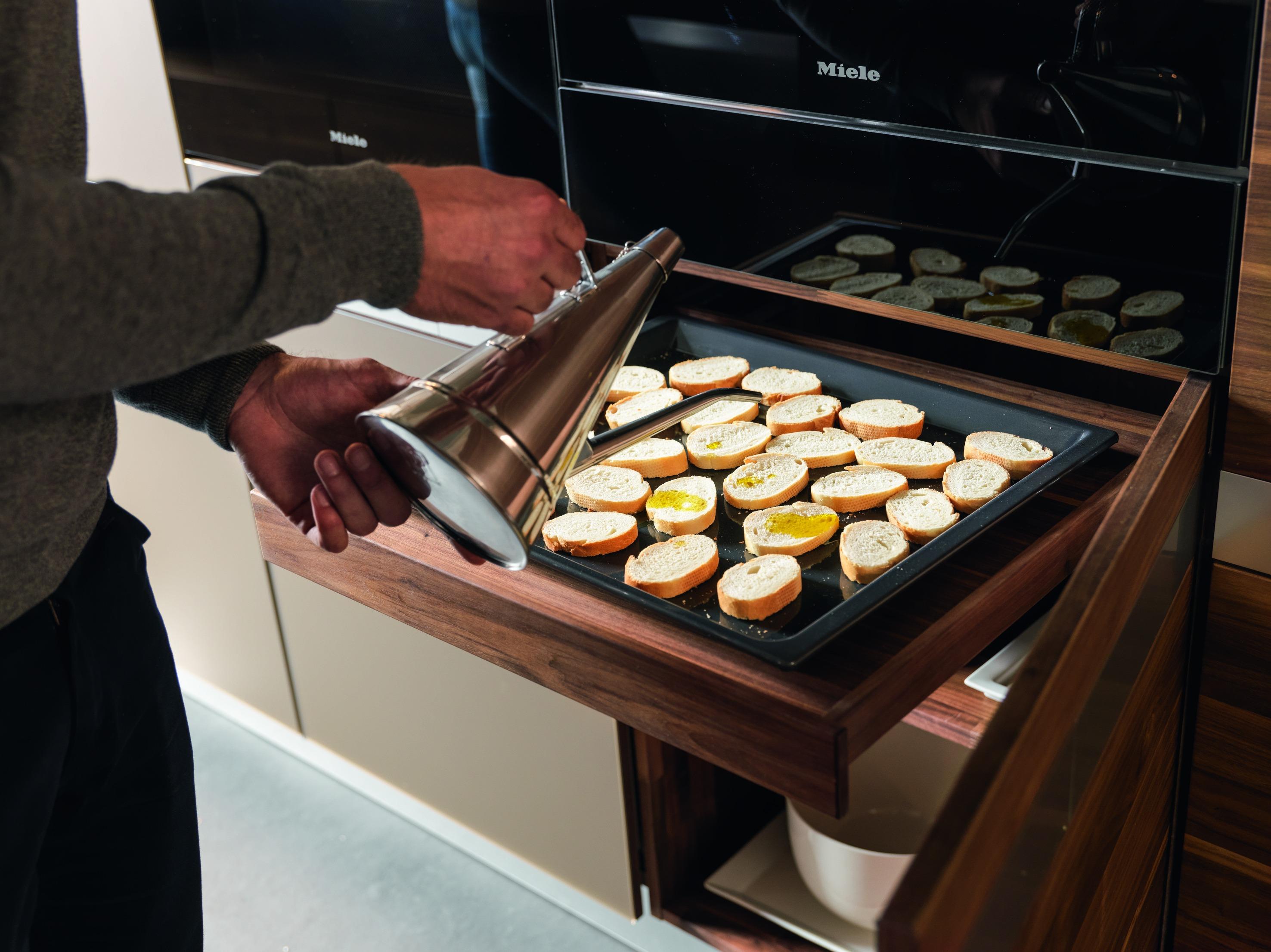 Küchenplanung Backofen