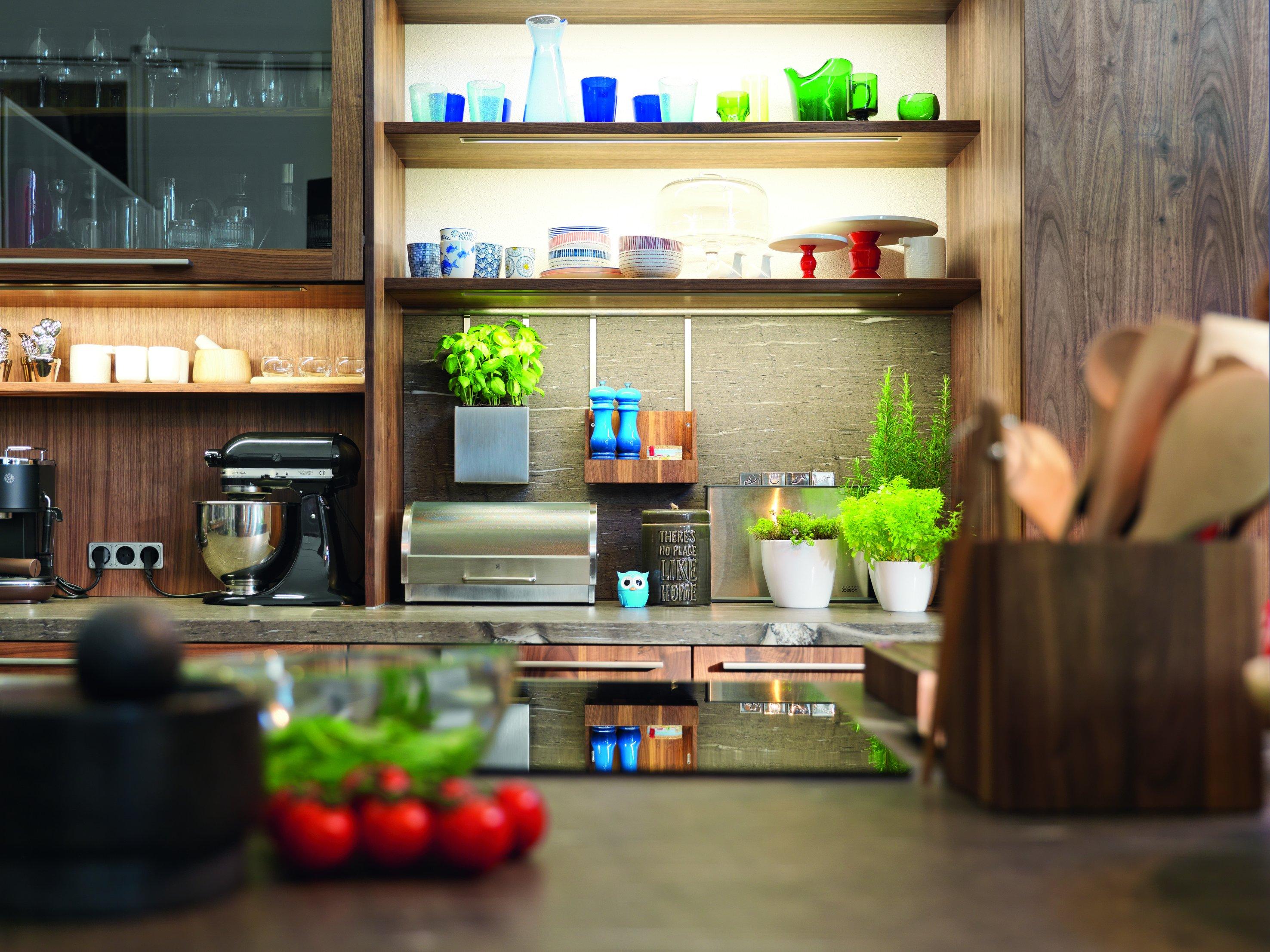 Kücheneinrichtung Holz
