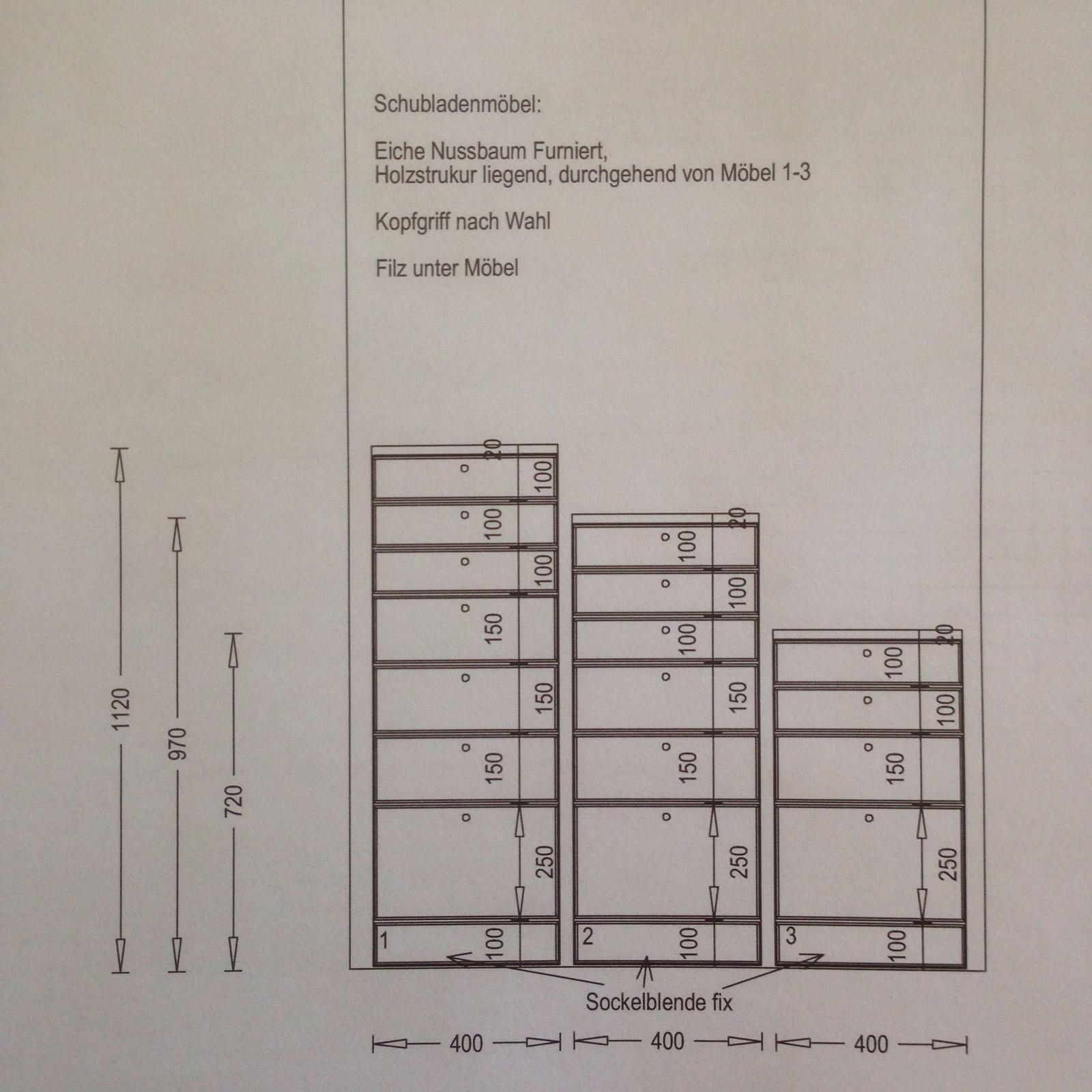 Nussbaum Holzmöbel Sonderanfertigung_Planung