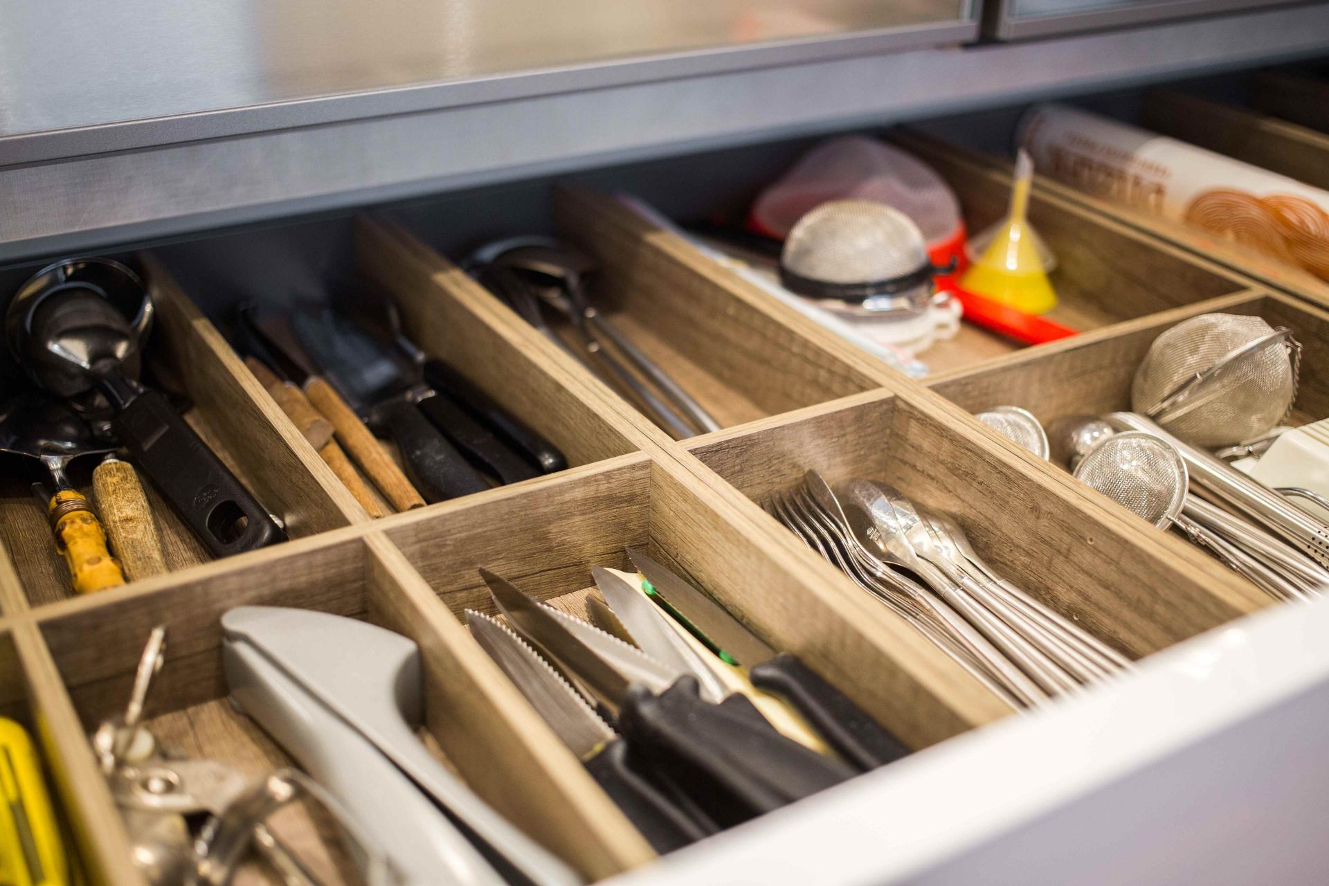 Küchenplanung Schubladen