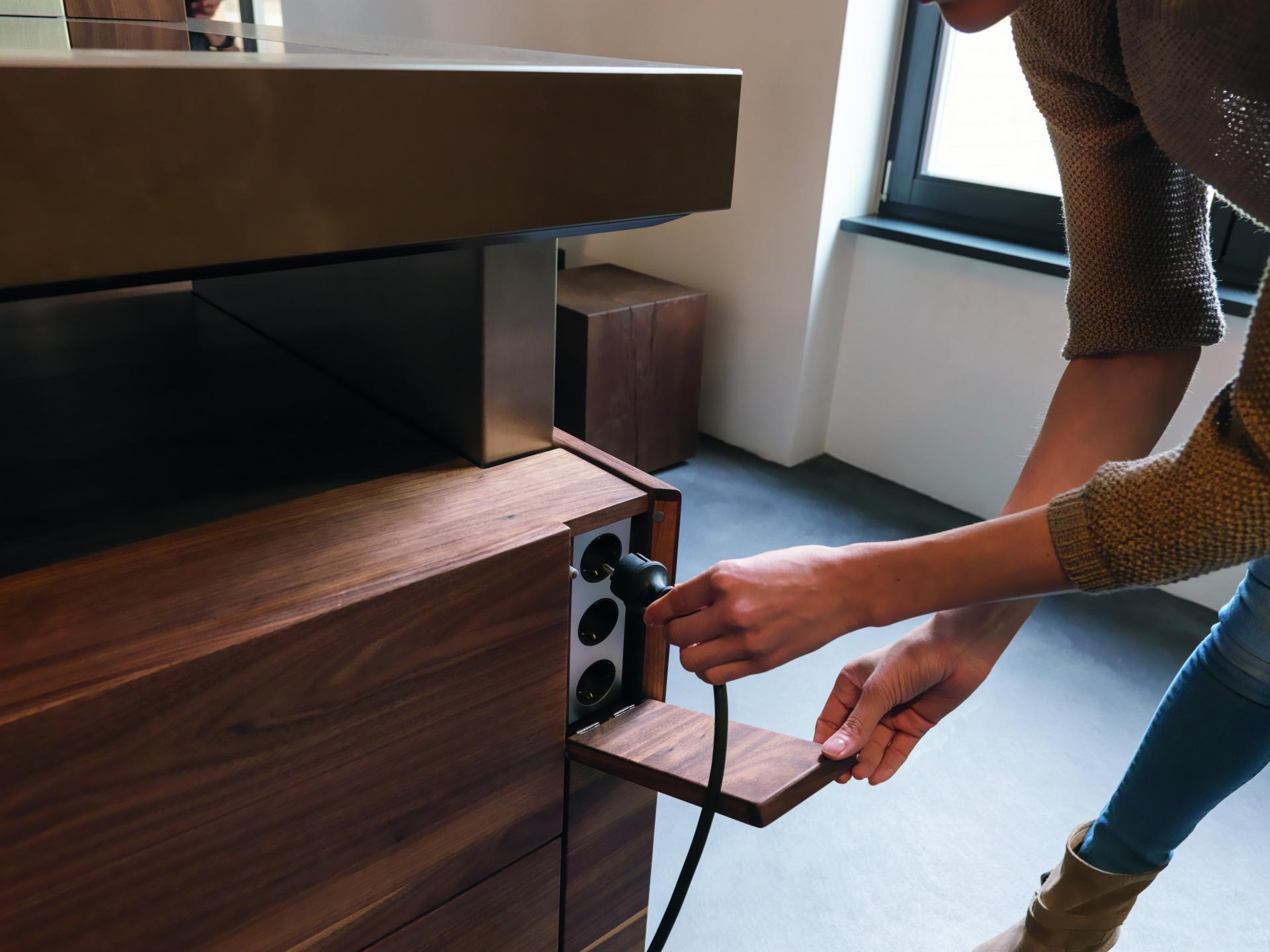 Küchenplanung Steckdose